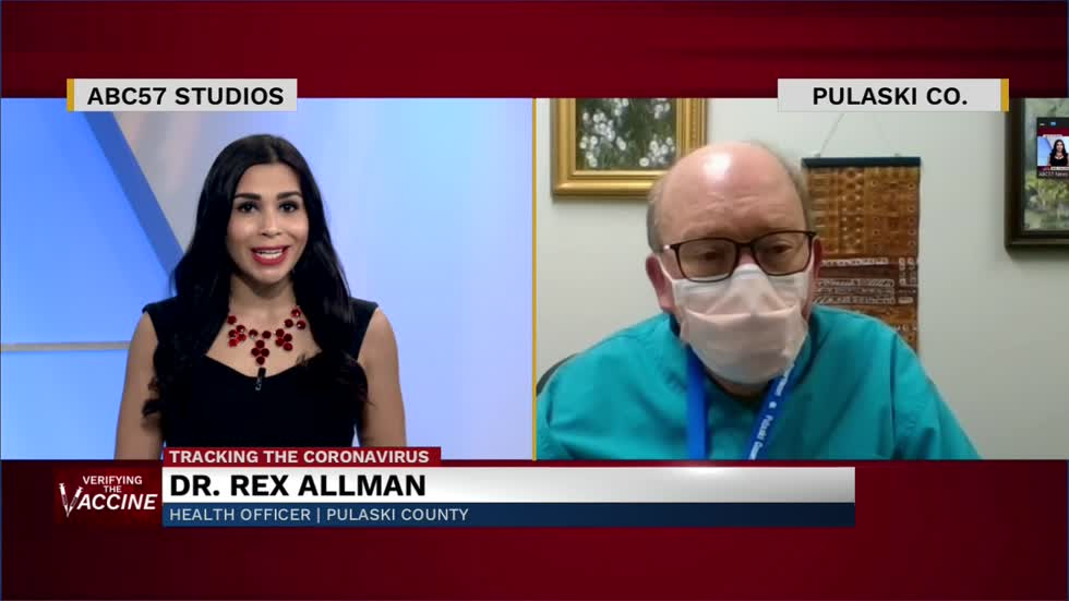 Dr. Rex Allman discusses new vaccine clinic, volunteering, and...